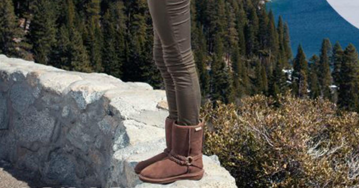 BEARPAW Womens Adele Snow Boot