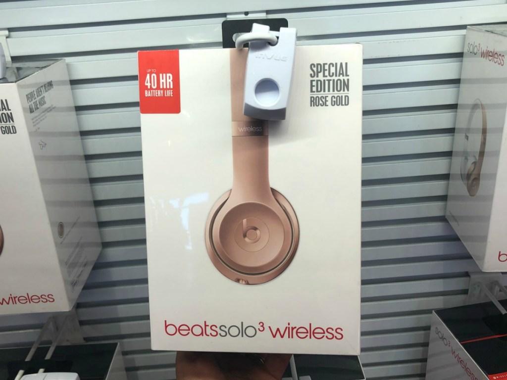 Beats Wireless Headphones in gold