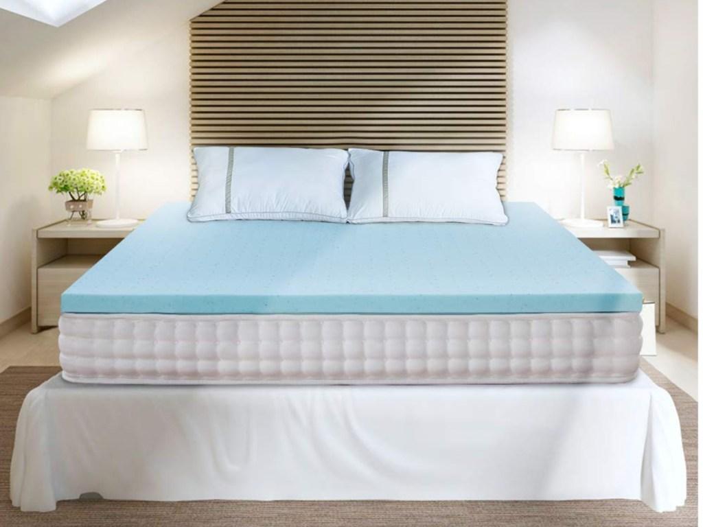 bedstory memory foam mattress topper