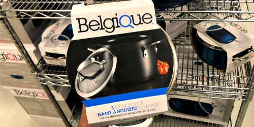 Belgique Hard-Anodized 3-Quart Soup Pot Only $12.99 at Macy's (Regularly $45)
