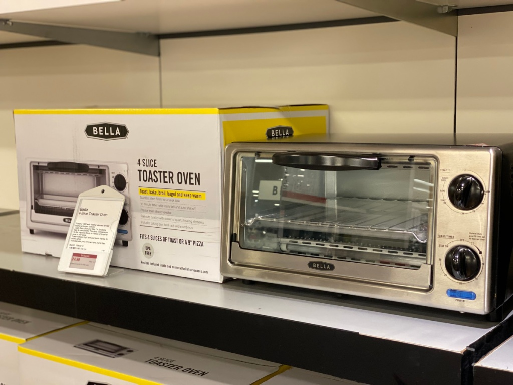 Bella 4-Slice Toaster Oven Only $5.98 at Lowe\'s + More HOT ...