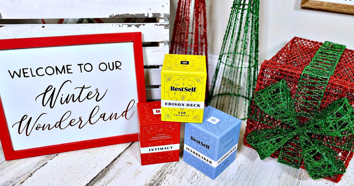 Best Self Co Boxed Cards with holiday theme
