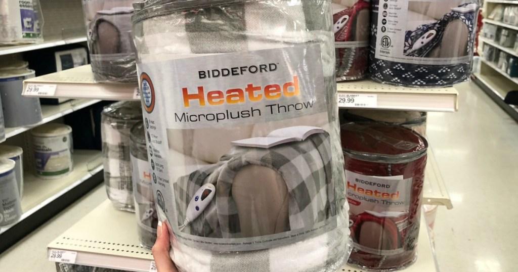 Biddeford Heated throw