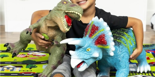 Giant Realistic Roaring Dinosaurs Only $34.99 Shipped