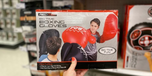 Big Time Boxing Gloves Just $13.99 (Regularly $20) | Just Use Your Phone