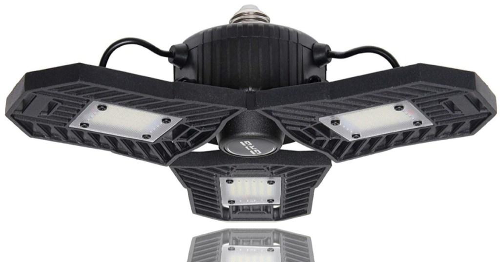Black LED Garage light