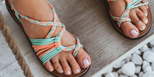 Vines Islandwear Women's Sandals Only $24.99 at Zulily (Regularly $55)