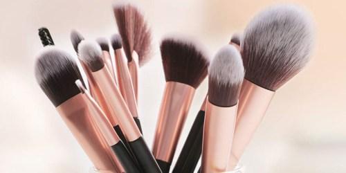 Anjou Makeup Brush 24-Piece Set Only $13.49 at Amazon