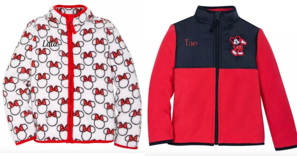 Disney Kids Fleece Jackets