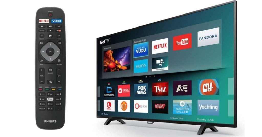 Philips TV with Remote