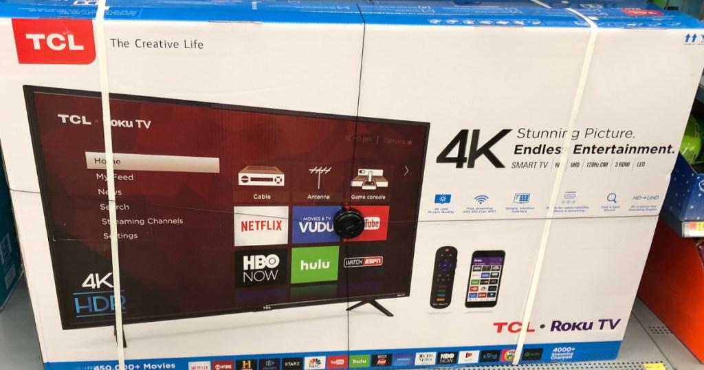 TCL 4K Ultra TV