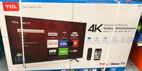 TCL 75″ 4K UHD TV Only $599.99 Shipped at Best Buy (Regularly $900)