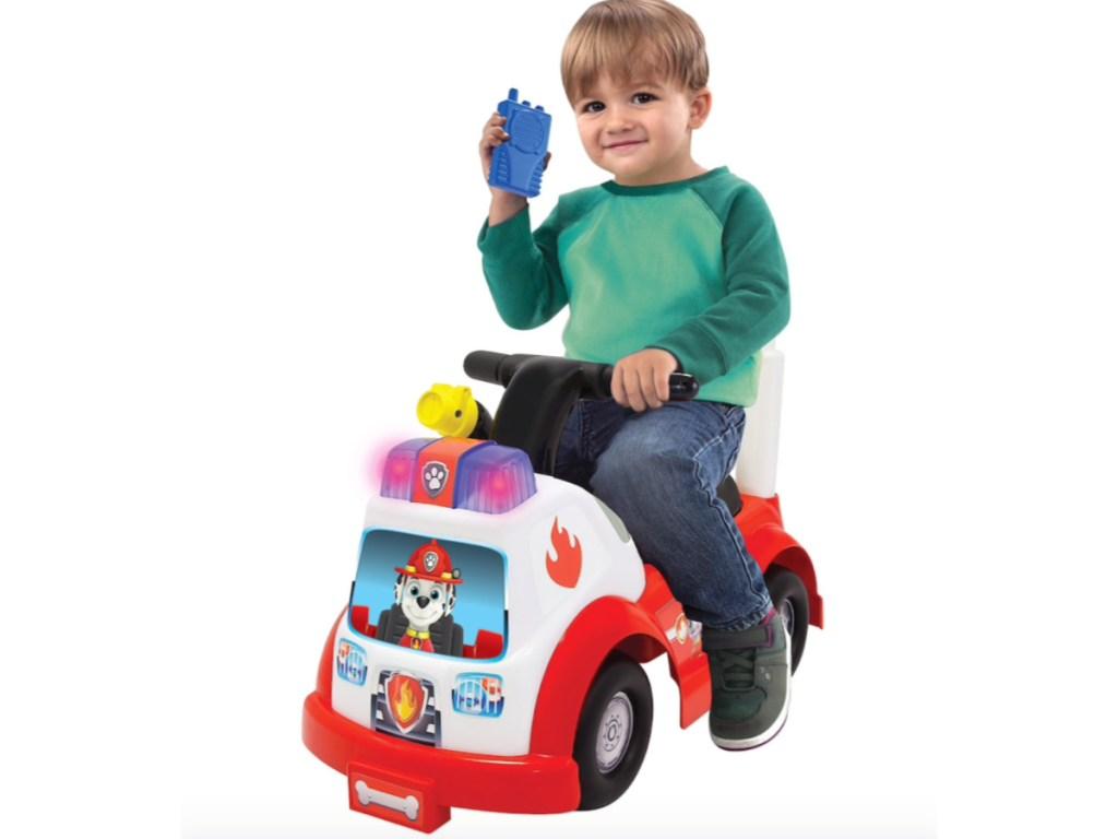 Paw Patrol Ride On Vehicle