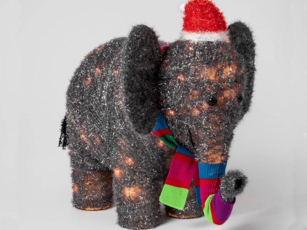 Wondershop Lighted Elephant Outdoor Sculpture at Target