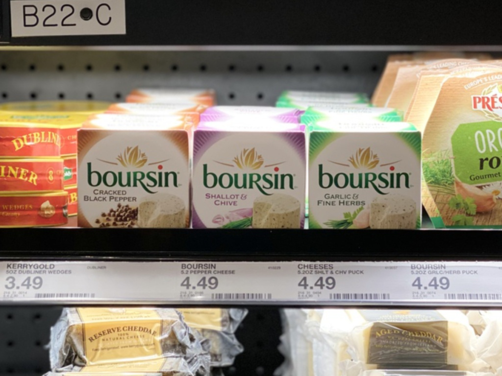 Boursin Cheese at Target