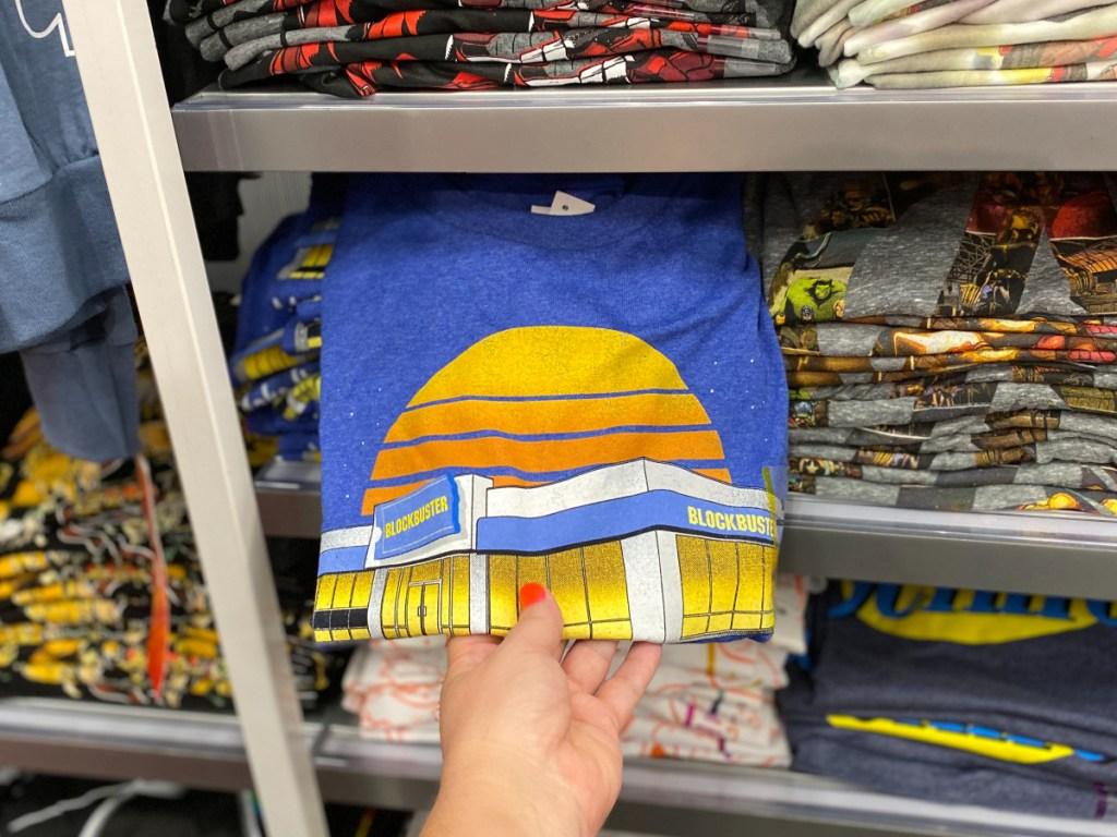 Men's Blockbuster Short sleeve Graphic T-Shirt