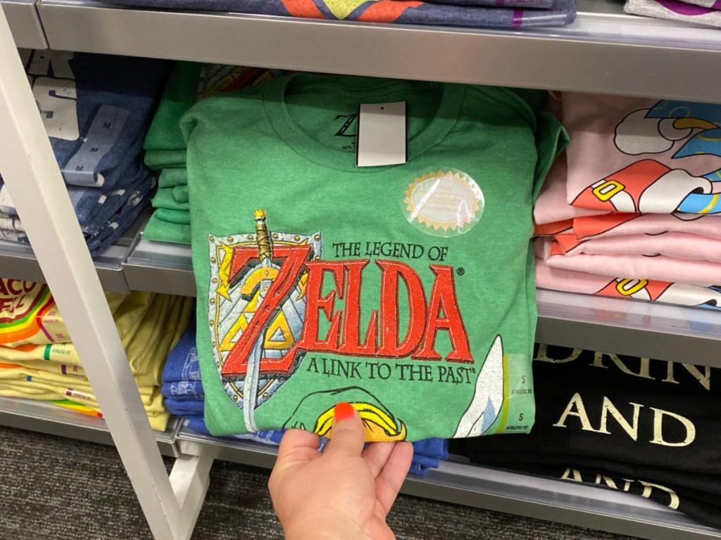 Men's The Legend of Zelda Short Sleeve Graphic T-Shirt