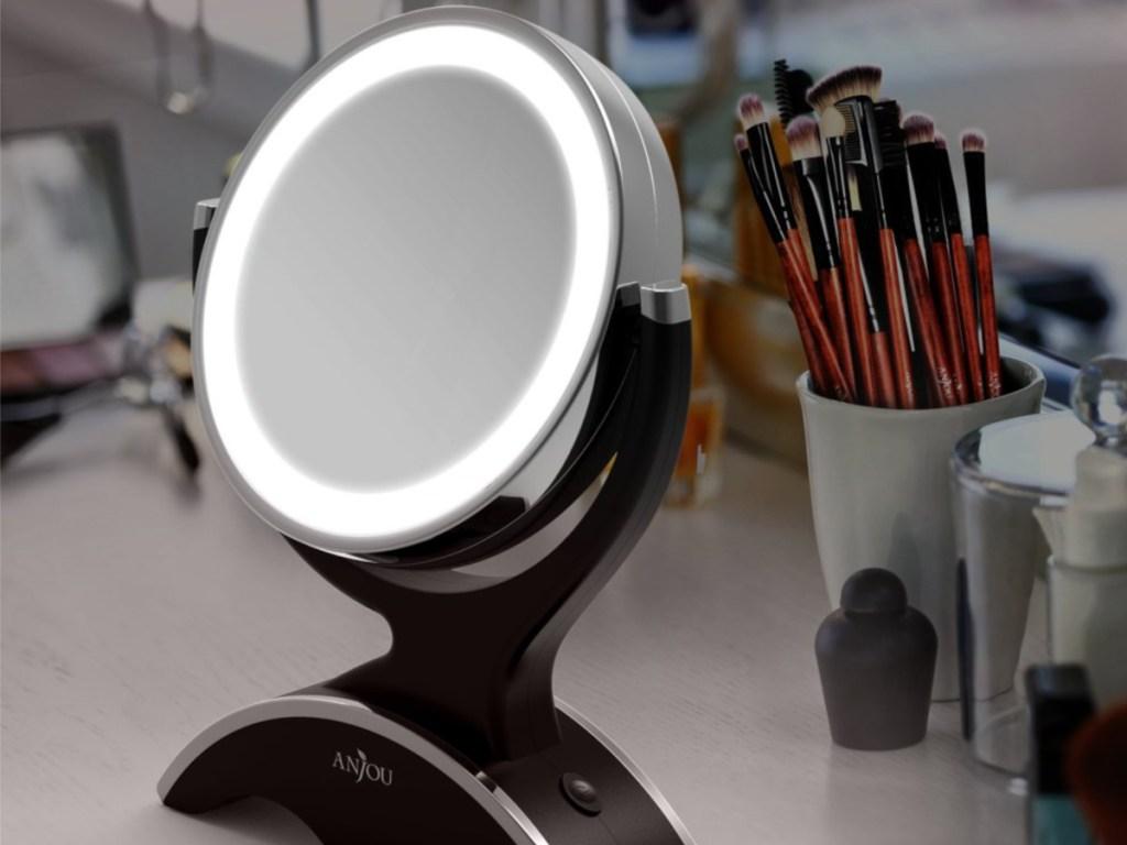 Anjou LED Lighted Mirror