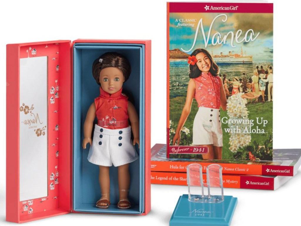 American Girl Nanea Mini Doll & Book