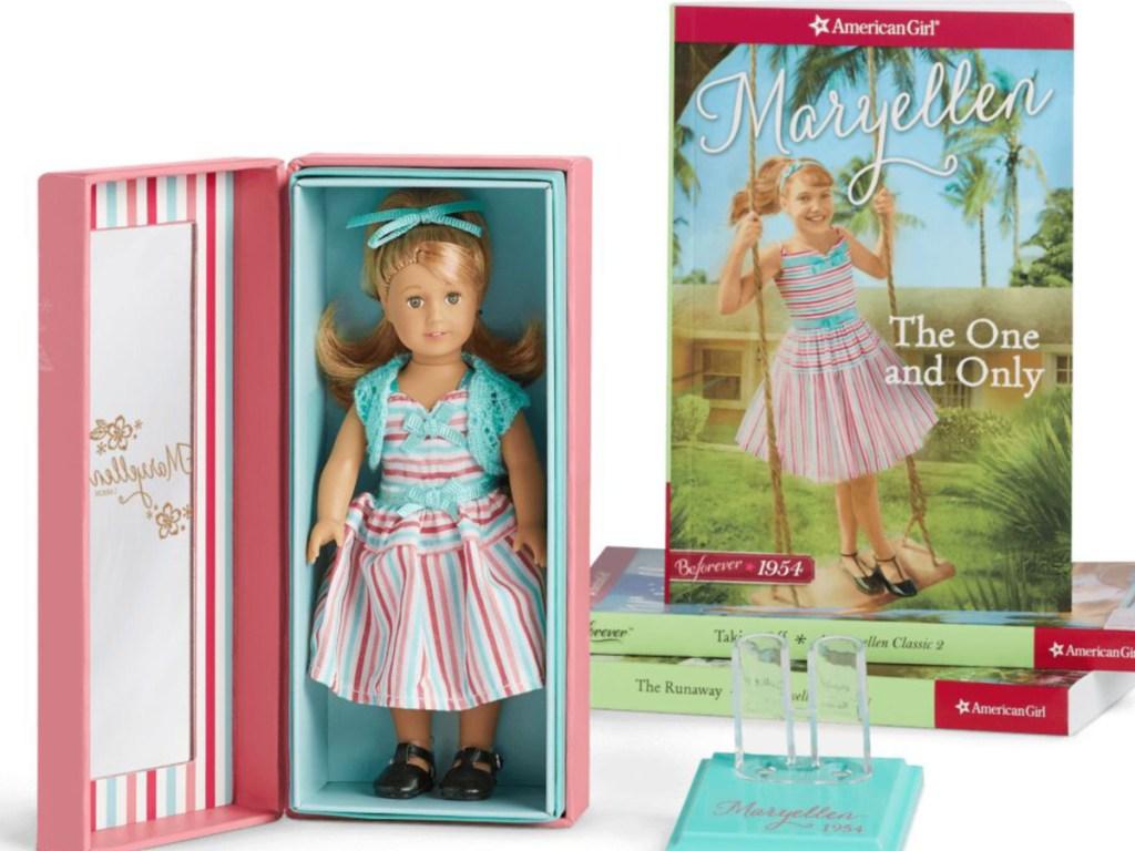 MaryEllen American Girl Mini Doll & Book