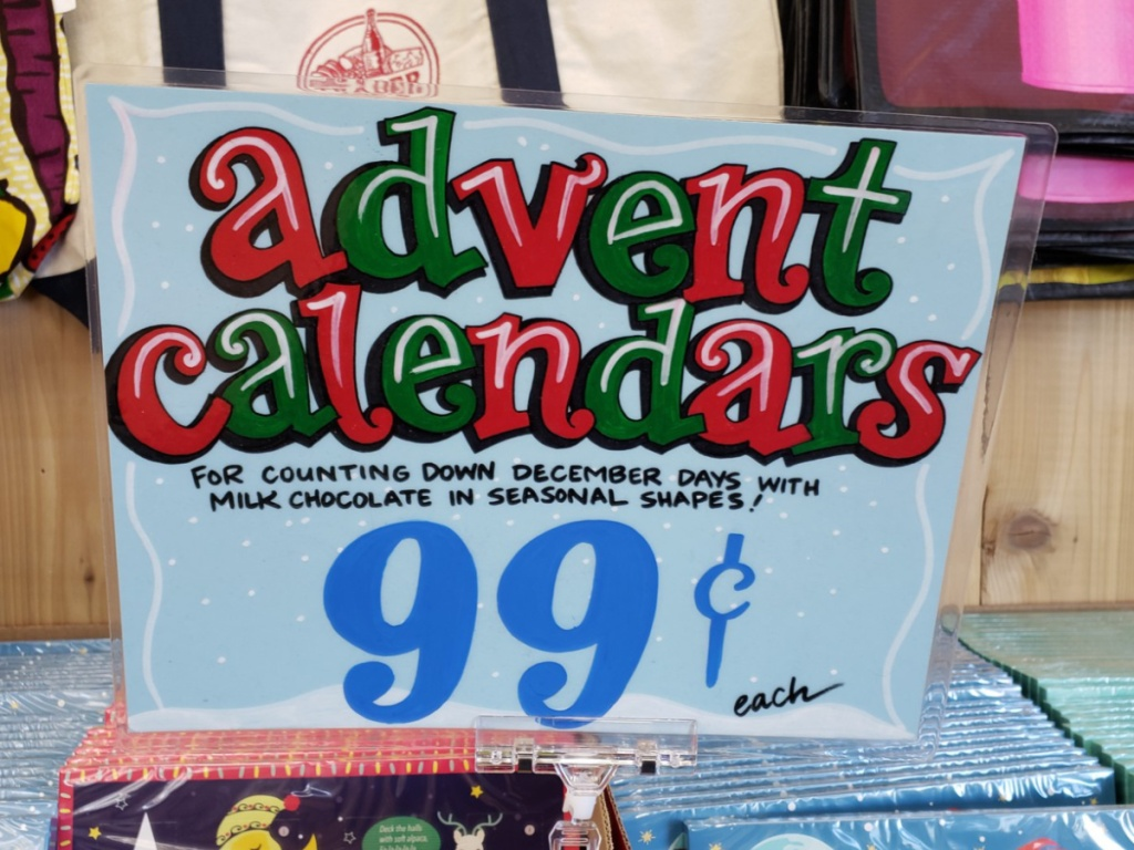 Trader Joe's Advent Calendars