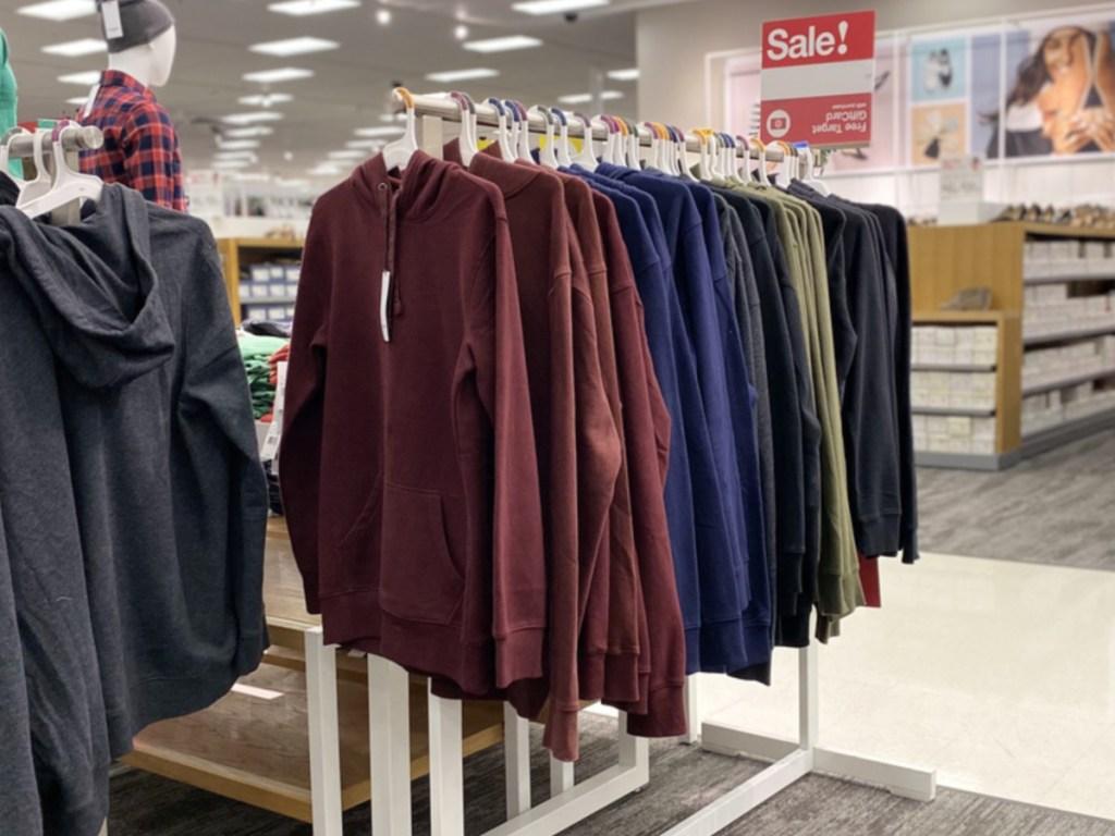 Goodfellow & Co Men's Standard Fit Fleece Pull Over Hoodie