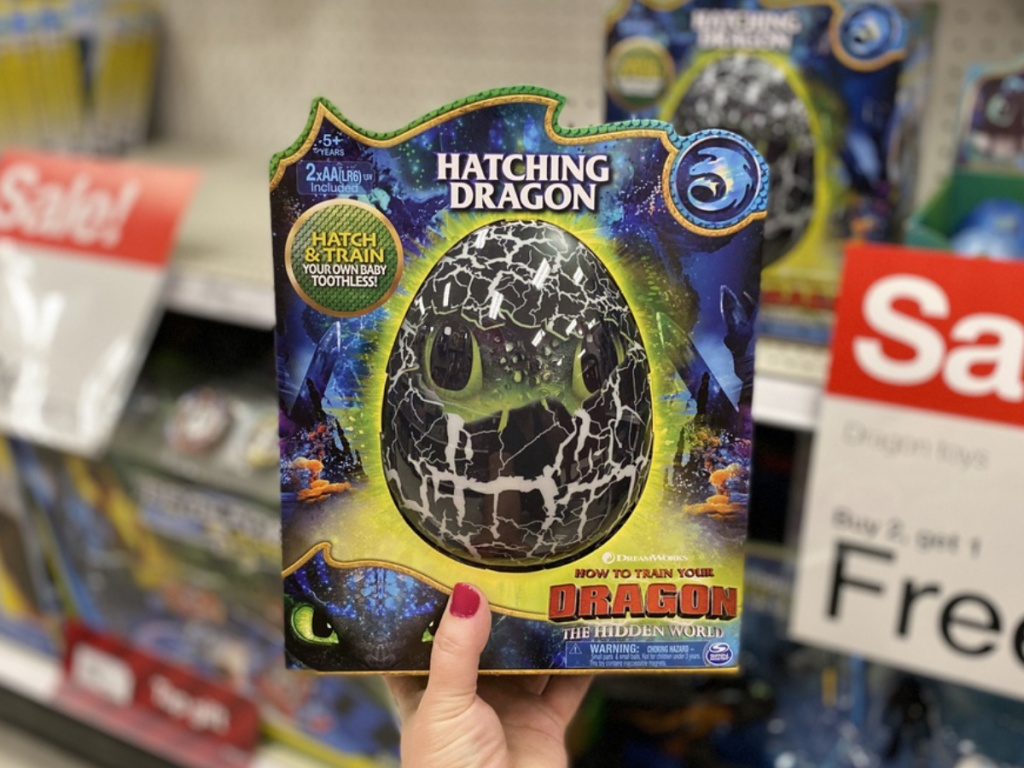 How to Train Your Dragon Toothless Hatching Dragon