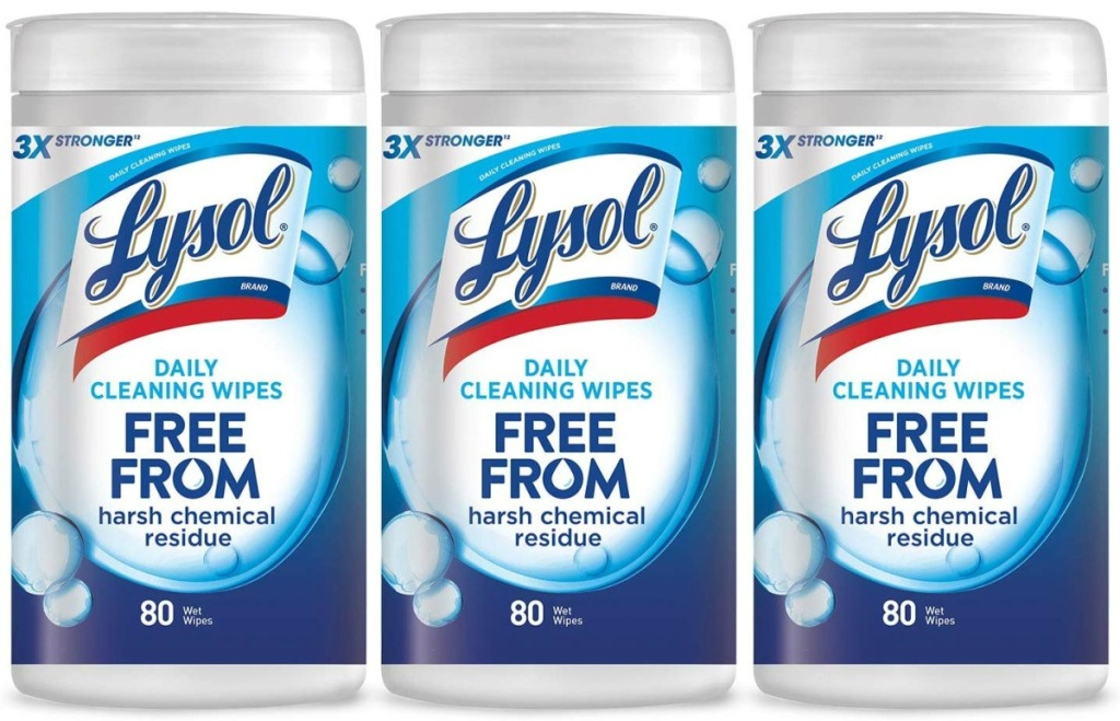 Lysol Cleansing Wipes