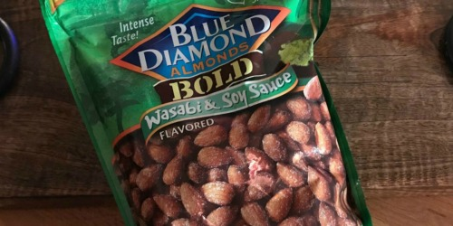 Blue Diamond Almonds Wasabi & Soy Sauce 1-Pound Bag Only $4.99 at Walgreens