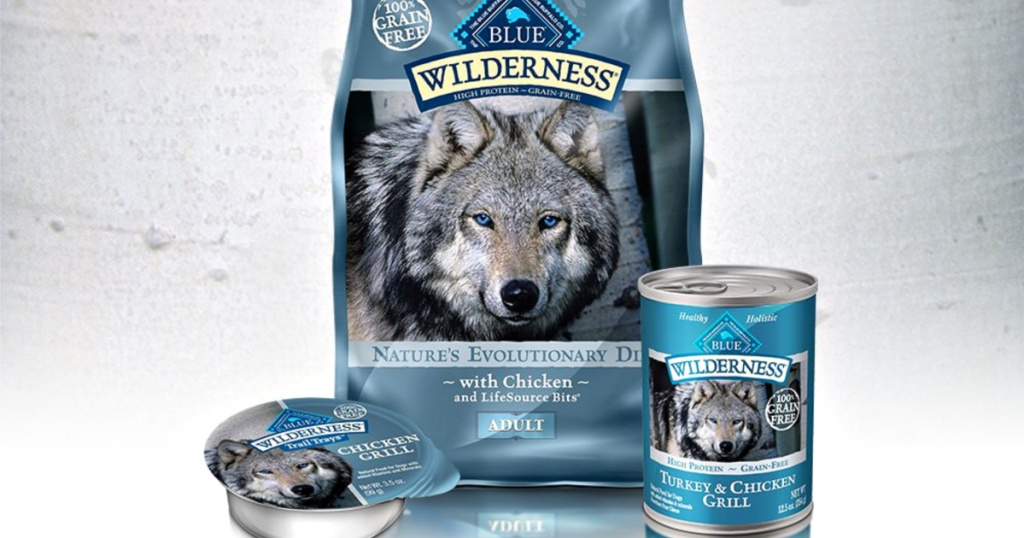 blue wilderness dog products