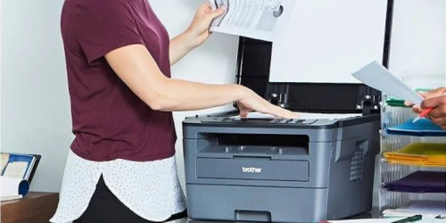 Brother Wireless Laser Print-Scan-Copy Printer Just $84.99 Shipped at Staples (Regularly $150)