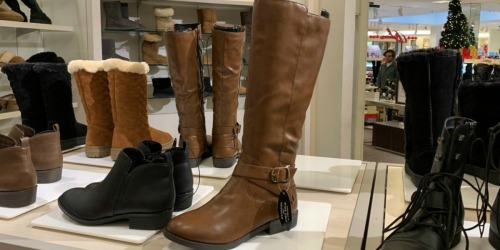 Women's Riding Boots Only $19.99 (Regularly $50)   Macy's Black Friday Special Sale