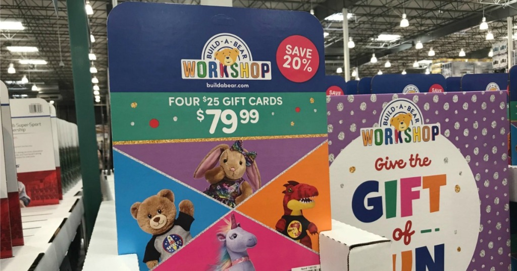 Build-A-Bear Costco Gift Cards