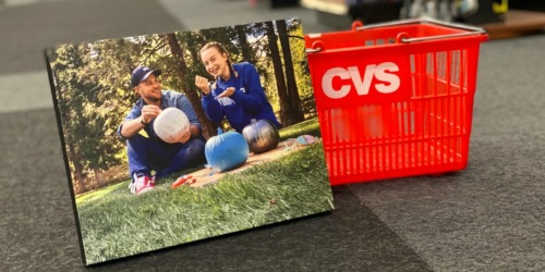 11×14 Canvas Photo Print Only $9.99 + Free CVS Store Pickup