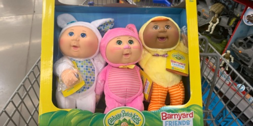Cabbage Patch Cuties 3-Pack Only $19.97 at Walmart (New Styles Added This Year!)