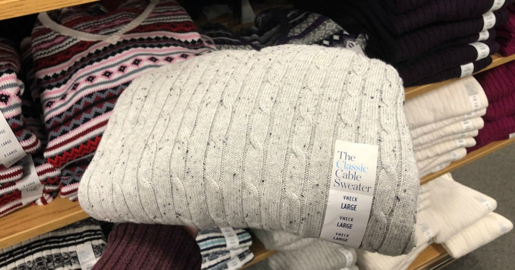 Cable Knit Sweaters at Kohl's