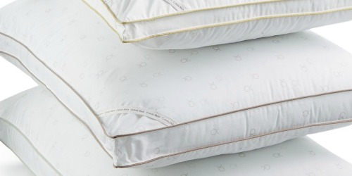 Up to 80% Off Calvin Klein Hypoallergenic Pillows at Macy's