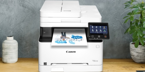 Canon Color All-In-One Wireless Laser Printer Only $169.99 Shipped at Amazon (Regularly $275)