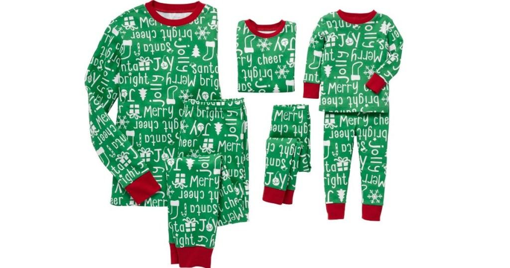 Carter's Matching Pajamas