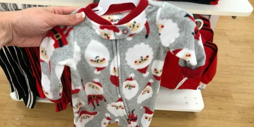 $114 Worth of Carter's Holiday Pajamas Just $36 Shipped + Earn $10 Fun Cash