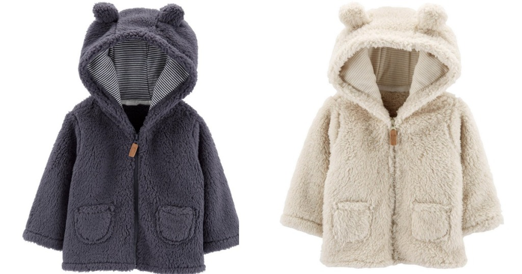 Carter's Sherpa Hoodies