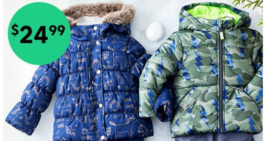 Carter's Snow Pants and Coat