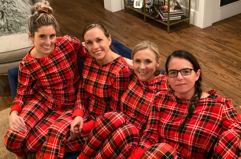 hip team wearing Cents of Style Noelle Pajamas
