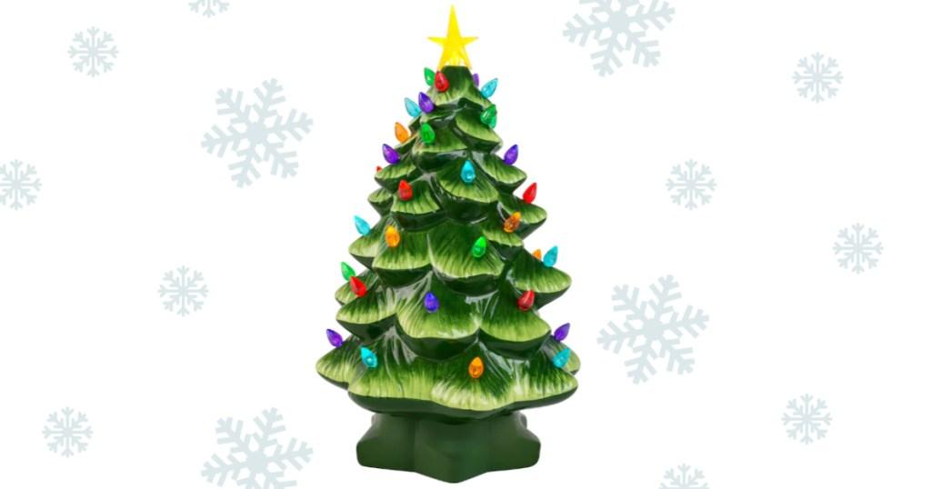 nostalgicgreen ceramic christmas tree
