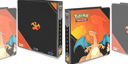 Pokemon Charizard Album w/ 100 Ultra Pro Platinum 9-Pocket Sheets Only $15 (Regularly $30)