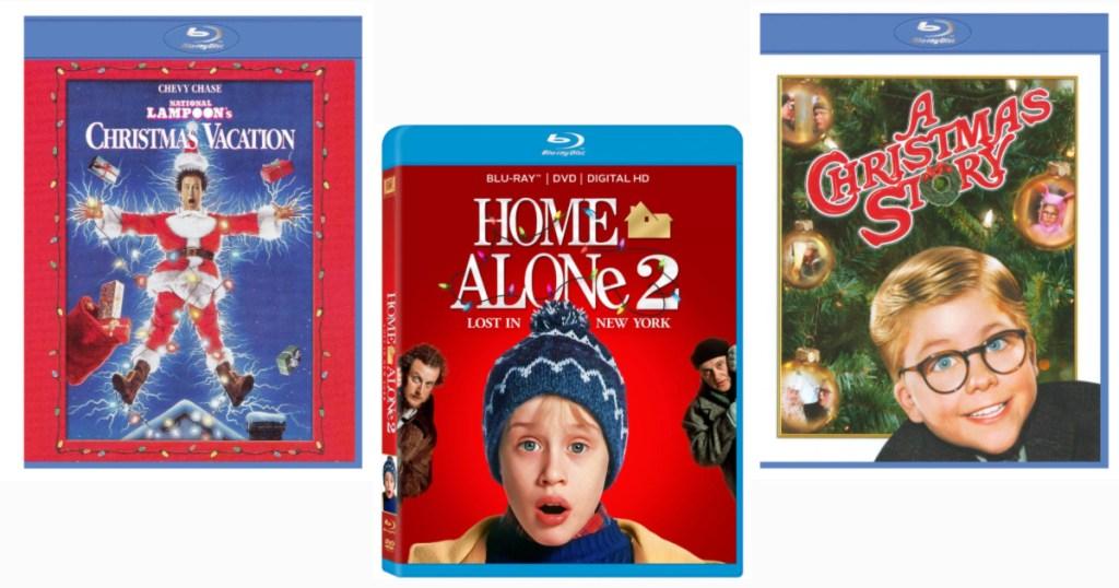 Christmas Vacation, Home Alone 2, A Christmas Story