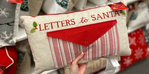 St. Nicholas Square Christmas Pillows Only $15.74 at Kohl's (Regularly $36)