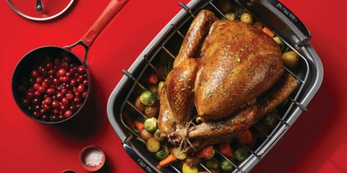 Circulon Nonstick Roaster w/ U-Rack Only $20.99 Shipped for Kohl's Cardholders (Regularly $60)