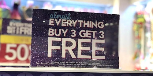 Claire's Black Friday 2019 Ad is Here | Almost Everything Buy 3, Get 3 Free