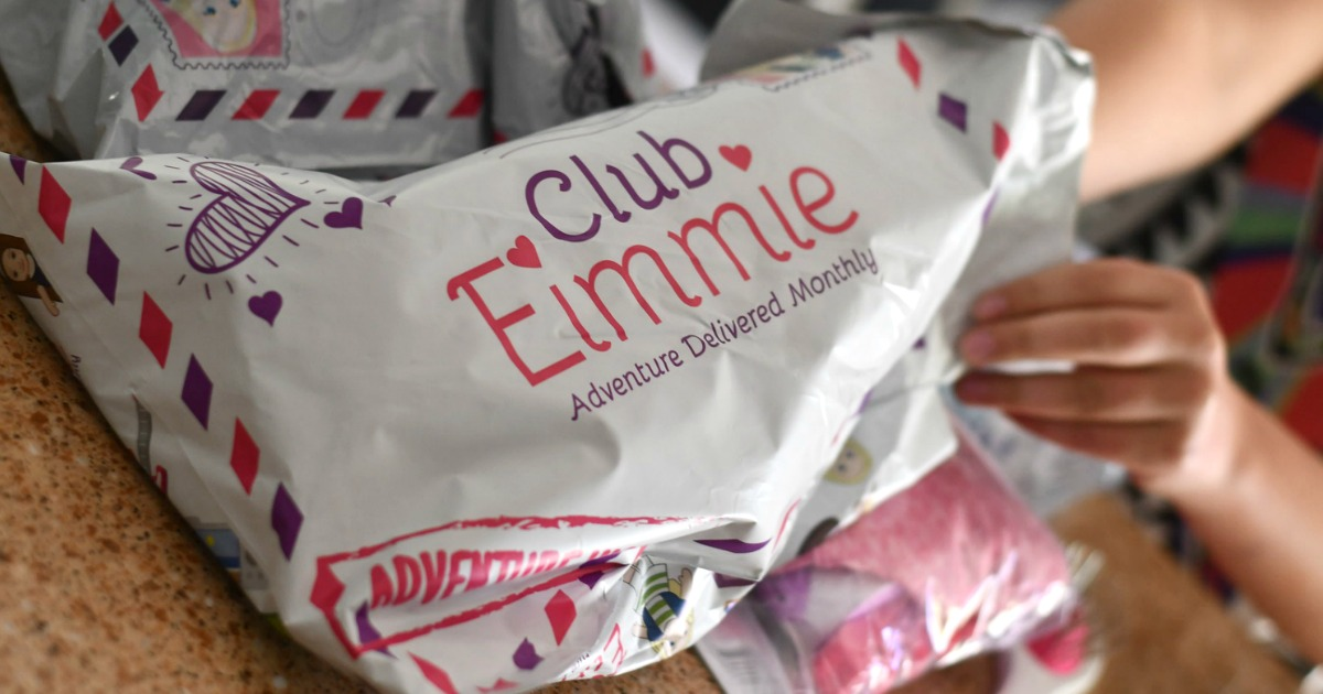 Mailing package from Club Eimmie